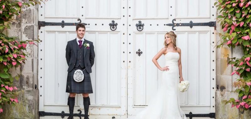 Jenni Lee And Johnny Castle: Wedding Photographer Edinburgh