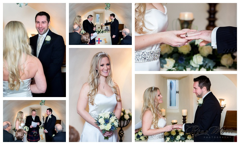 Forter castle wedding dress